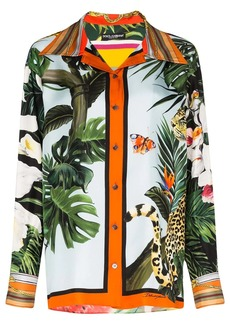 Dolce & Gabbana animal-print shirt