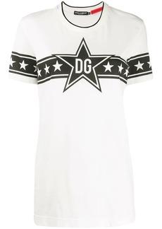 Dolce & Gabbana DG Star print T-shirt