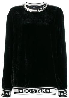 Dolce & Gabbana DG Star trim sweatshirt