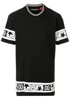 Dolce & Gabbana DG stars print T-shirt