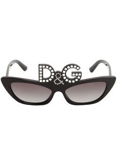 Dolce & Gabbana D&g Studded Acetate Sunglasses
