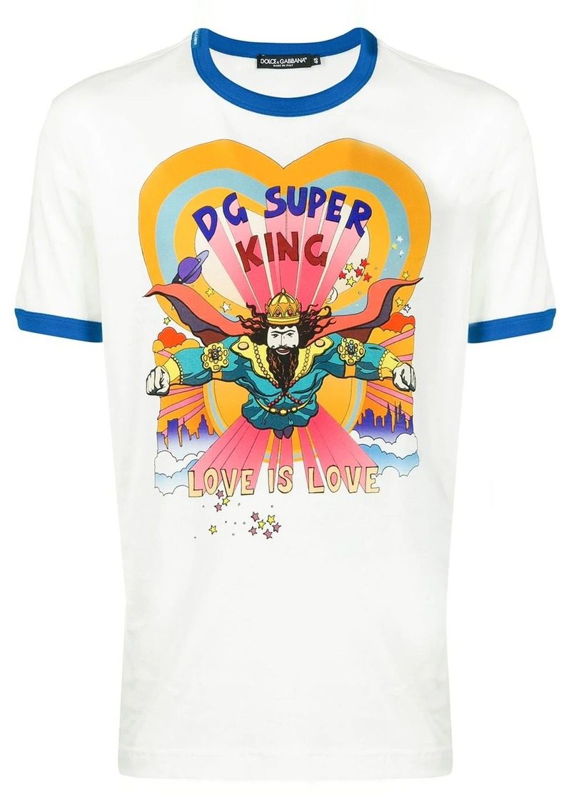 Dolce & Gabbana DG Super King graphic print T-shirt