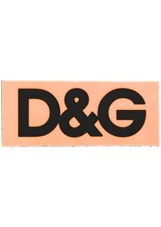 Dolce & Gabbana D&G tape shoe patch