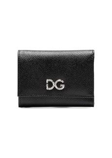 Dolce & Gabbana diamante DG logo wallet