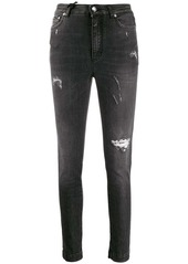 Dolce & Gabbana distressed-effect slim fit jeans