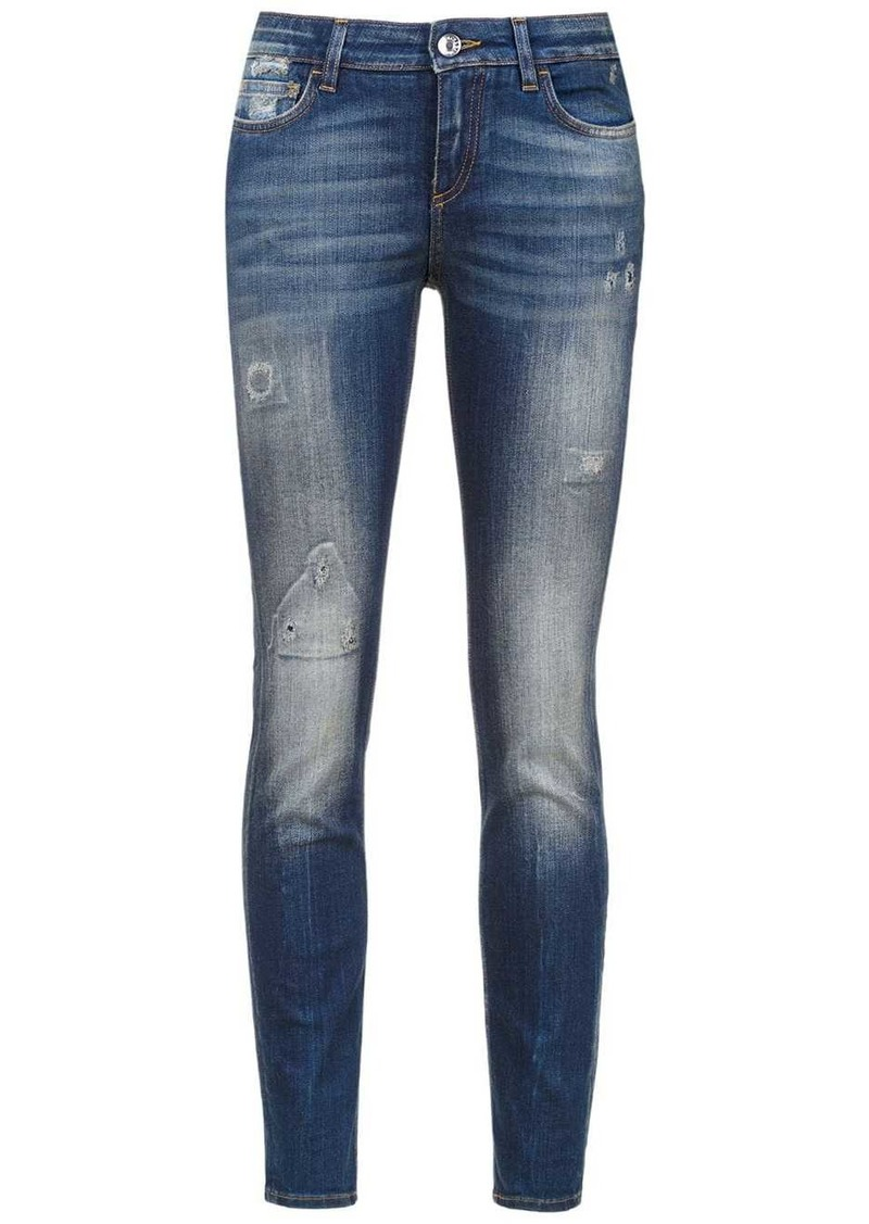 Dolce & Gabbana distressed skinny-jeans