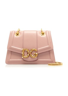 Dolce & Gabbana Amore Small Leather Shoulder Bag
