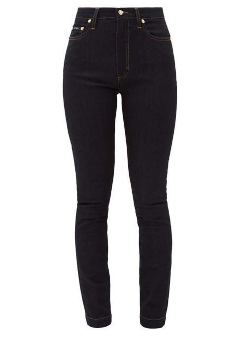 Dolce & Gabbana Audrey high-rise stretch skinny jeans