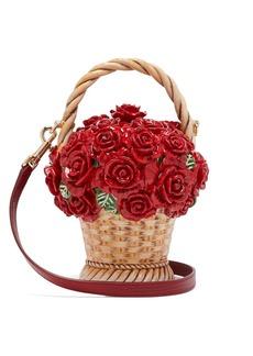 Dolce & Gabbana Basket of Roses resin clutch