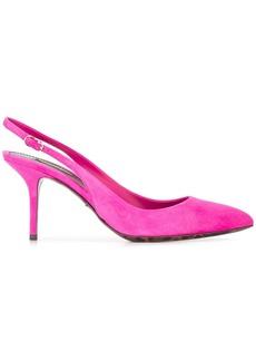 Dolce & Gabbana Bellucci sling-back pumps - Pink & Purple
