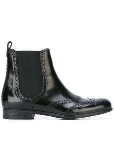 Dolce & Gabbana brogue Chelsea boots - Black