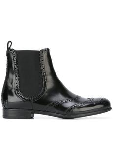 Dolce & Gabbana brogue Chelsea boots - Black