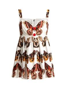 Dolce & Gabbana Butterfly-print cotton top