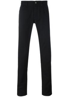 Dolce & Gabbana car & palm patch jeans - Black