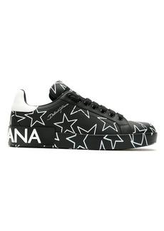 Dolce & Gabbana Millenials star print sneakers