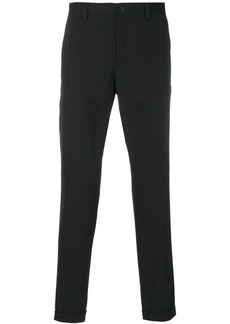Dolce & Gabbana classic cropped chinos - Black