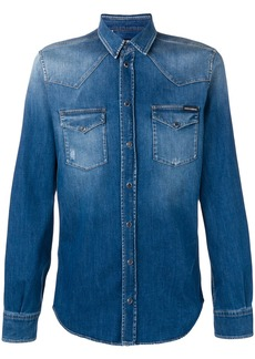 Dolce & Gabbana classic denim shirt - Blue