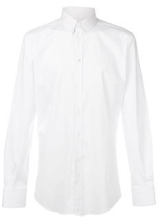 Dolce & Gabbana classic long sleeve shirt - White