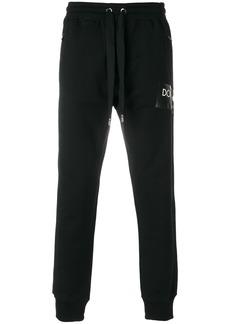 Dolce & Gabbana classic tracksuit bottoms - Black