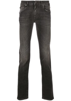 Dolce & Gabbana comfort fit jeans - Grey