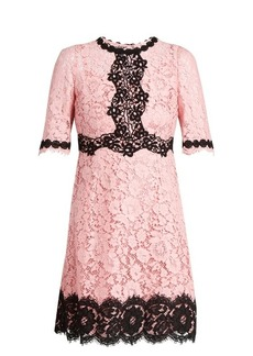 Dolce & Gabbana Cordonetto-lace dress