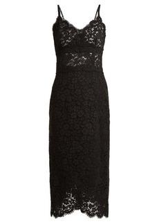 Dolce & Gabbana Cordonetto scallop-edged lace dress