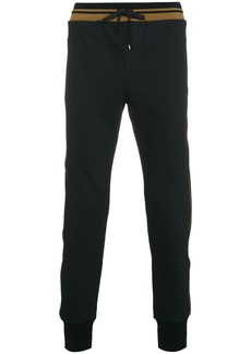 Dolce & Gabbana cotton jogging pants - Black