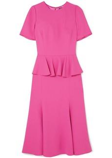 Dolce & Gabbana Crepe peplum dress