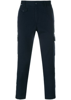 Dolce & Gabbana cropped cargo trousers - Blue