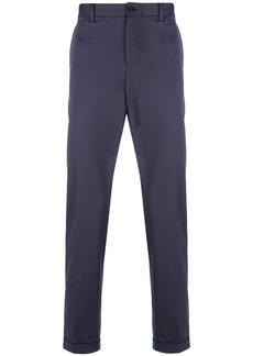 Dolce & Gabbana cropped straight leg trousers - Blue