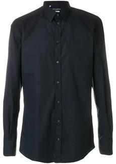 Dolce & Gabbana curved hem shirt - Blue