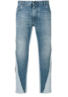Dolce & Gabbana deconstructed jeans - Blue