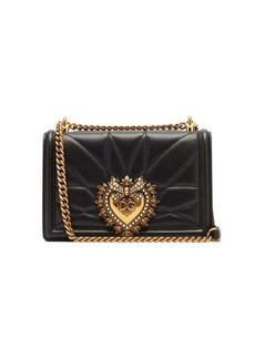 Dolce & Gabbana Devotion quilted leather cross-body bag