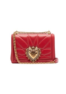 Dolce & Gabbana Devotion quilted-leather cross-body bag