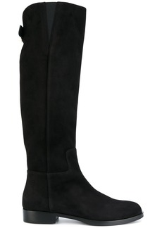 Dolce & Gabbana DG riding boots - Black