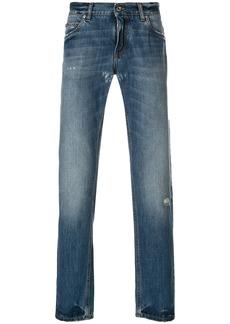 Dolce & Gabbana distressed detail jeans - Blue