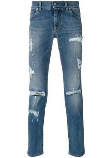 Dolce & Gabbana distressed jeans - Blue