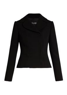 Dolce & Gabbana Double-breasted notch-lapel wool jacket