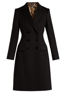 Dolce & Gabbana Double-breasted wool and cashmere-blend coat
