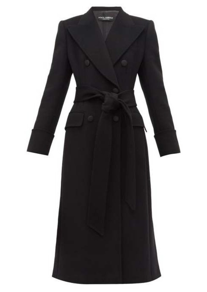 Dolce & Gabbana Double-breasted wool pea coat