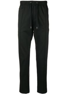 Dolce & Gabbana drawstring waist trousers - Black