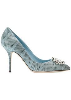 Dolce & Gabbana embellished pumps - Blue