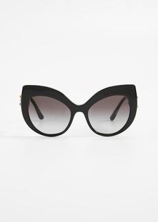 Dolce & Gabbana Extreme Cat Eye Sunglasses