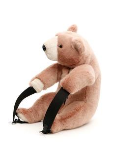 Dolce & Gabbana Faux Fur Bear Backpack