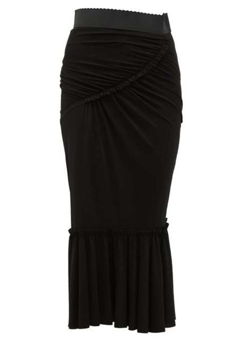 Dolce & Gabbana Fishtail midi skirt