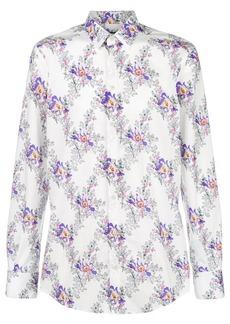 Dolce & Gabbana floral print shirt - White