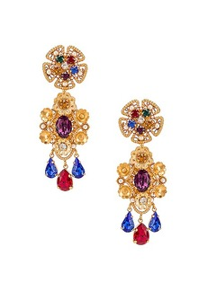Dolce & Gabbana Flower Drop Earrings