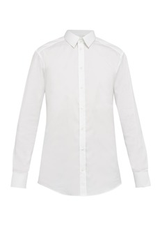 Dolce & Gabbana Gold Fit cotton-blend stretch shirt