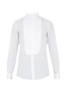 Dolce & Gabbana Gold-fit French-cuff cotton dinner shirt