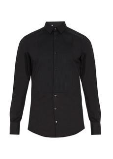 Dolce & Gabbana Gold-fit single-cuff cotton dinner shirt